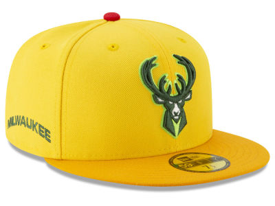 Milwaukee Bucks New Era NBA City Series 2.0 59FIFTY Cap