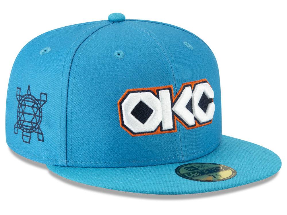 d3a3fdffff8 Oklahoma City Thunder New Era NBA City Series 2.0 59FIFTY Cap