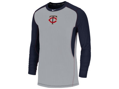 Minnesota Twins Nike MLB Men's Authentic Collection Game Top Pullover