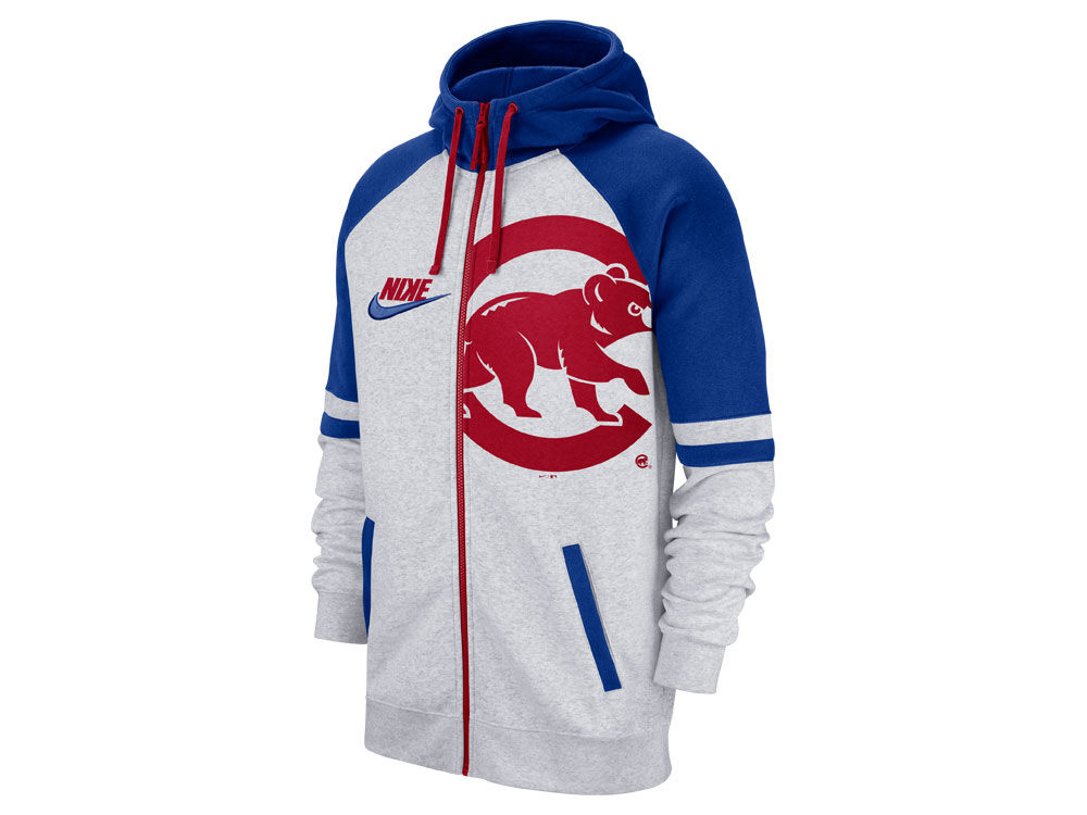 8c4153a797f Chicago Cubs Nike MLB Men s Walkoff Full Zip Hoodie