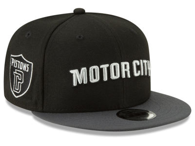 Detroit Pistons New Era NBA Youth City Series 2.0 9FIFTY Snapback Cap
