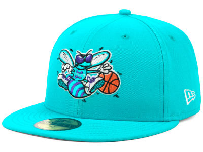 Charlotte Hornets New Era NBA Hardwood Classic Nights 59FIFTY Cap