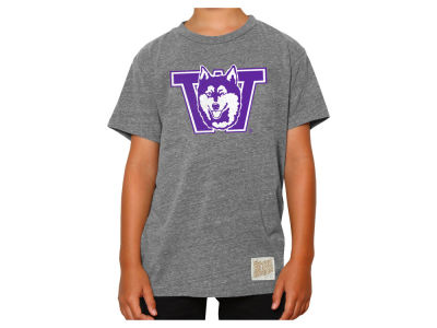 Washington Huskies Retro Brand NCAA Youth Tri-Blend T-Shirt