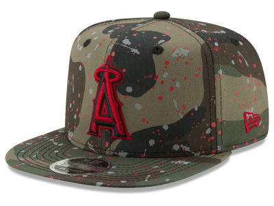 Los Angeles Angels New Era MLB Camo Spec 9FIFTY Snapback Cap