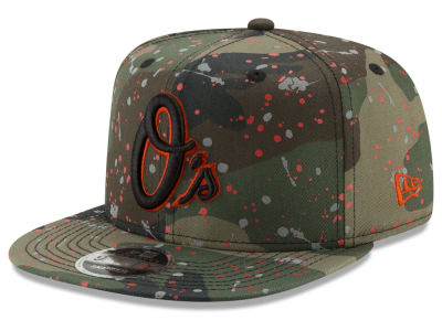 Baltimore Orioles New Era MLB Camo Spec 9FIFTY Snapback Cap