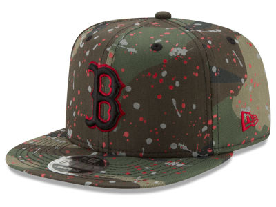 Boston Red Sox New Era MLB Camo Spec 9FIFTY Snapback Cap