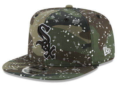 Chicago White Sox New Era MLB Camo Spec 9FIFTY Snapback Cap