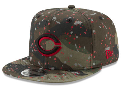 Cincinnati Reds New Era MLB Camo Spec 9FIFTY Snapback Cap