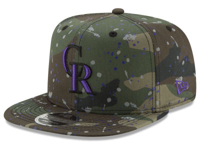 Colorado Rockies New Era MLB Camo Spec 9FIFTY Snapback Cap