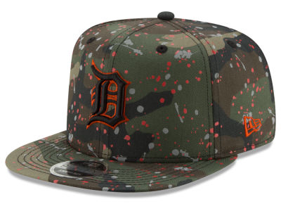 Detroit Tigers New Era MLB Camo Spec 9FIFTY Snapback Cap