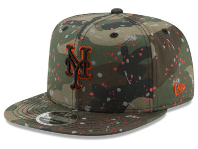 New York Mets New Era MLB Camo Spec 9FIFTY Snapback Cap