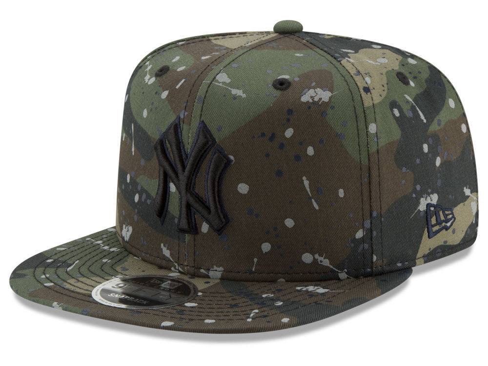 New York Yankees New Era MLB Camo Spec 9FIFTY Snapback Cap  4f245c68035