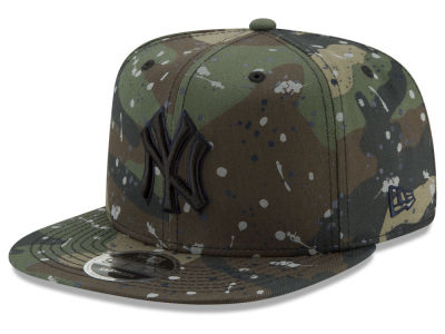 New York Yankees New Era MLB Camo Spec 9FIFTY Snapback Cap
