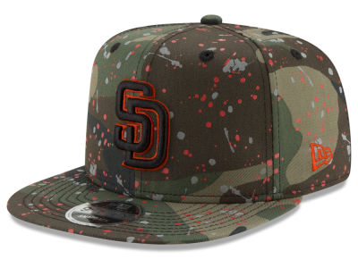 San Diego Padres New Era MLB Camo Spec 9FIFTY Snapback Cap