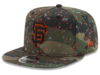 San Francisco Giants New Era MLB Camo Spec 9FIFTY Snapback Cap