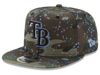Tampa Bay Rays New Era MLB Camo Spec 9FIFTY Snapback Cap