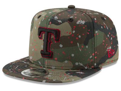 Texas Rangers New Era MLB Camo Spec 9FIFTY Snapback Cap