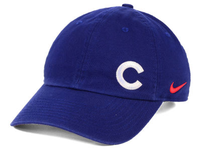 Chicago Cubs Nike MLB Women s Offset Adjustable Cap c06cf18835