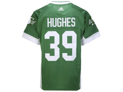 Saskatchewan Roughriders Charleston Hughes adidas CFL Men's Premier Player Jersey
