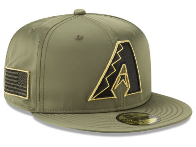 Arizona Diamondbacks New Era MLB Satin Salute 59FIFTY Cap