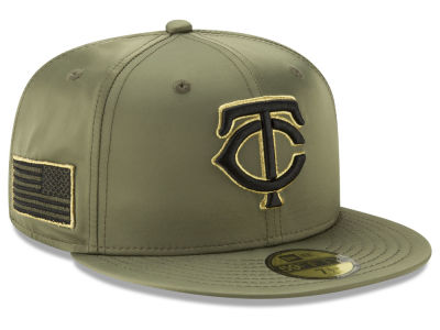 Minnesota Twins New Era MLB Satin Salute 59FIFTY Cap
