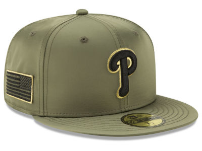 Philadelphia Phillies New Era MLB Satin Salute 59FIFTY Cap
