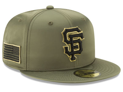 San Francisco Giants New Era MLB Satin Salute 59FIFTY Cap