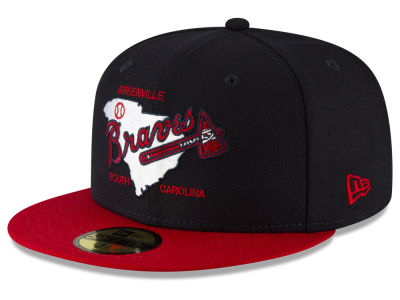 Greenville Braves New Era MiLB Custom Collection 59FIFTY Cap