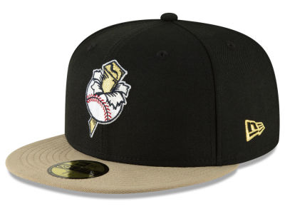 Omaha Golden Spikes New Era MiLB Custom Collection 59FIFTY Cap