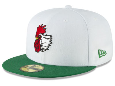 Port City Roosters New Era MiLB Custom Collection 59FIFTY Cap