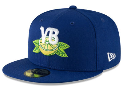 Vero Beach Dodgers New Era MiLB Custom Collection 59FIFTY Cap