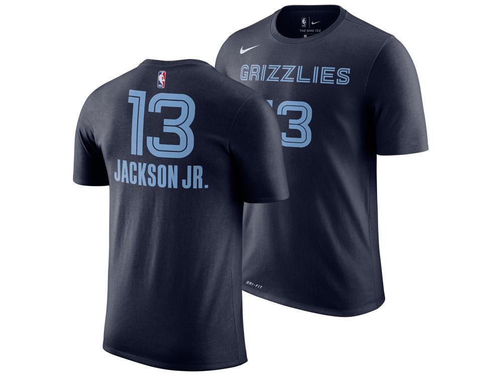 Memphis Grizzlies Jaren Jackson Jr. Nike NBA Men s Icon Player T-shirt  3db8c82b5