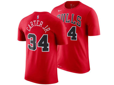 Chicago Bulls Wendell Carter Jr. Nike NBA Men's Icon Player T-shirt