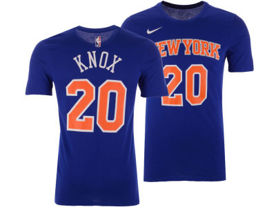 New York Knicks Kevin Knox Nike NBA Men's Icon Player T-shirt