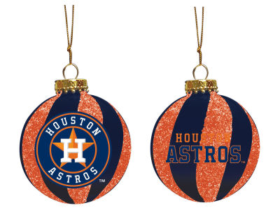 "Houston Astros Memory Company 3"" Sparkle Glass Ball Ornament"