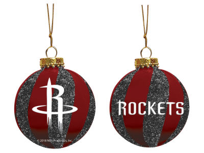 "Houston Rockets Memory Company 3"" Sparkle Glass Ball Ornament"