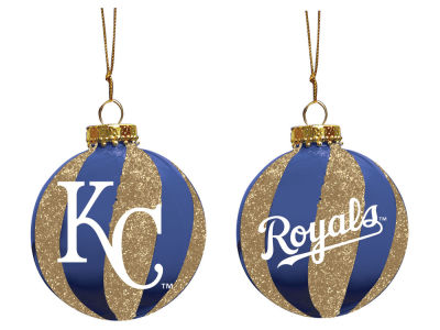 "Kansas City Royals Memory Company 3"" Sparkle Glass Ball Ornament"