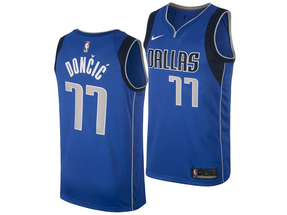 Dallas Mavericks Luka Doncic Nike NBA Men s Icon Swingman Jersey ... f18867aa0