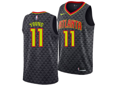 Atlanta Hawks Trae Young Nike NBA Men's Icon Draft Swingman Jersey