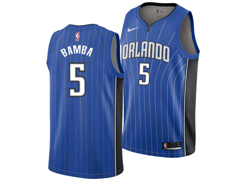 a30155cbe1b Magic Association White Jersey  Orlando Magic Mohamed Bamba Nike NBA Mens  Icon Draft Swingman Jersey ...