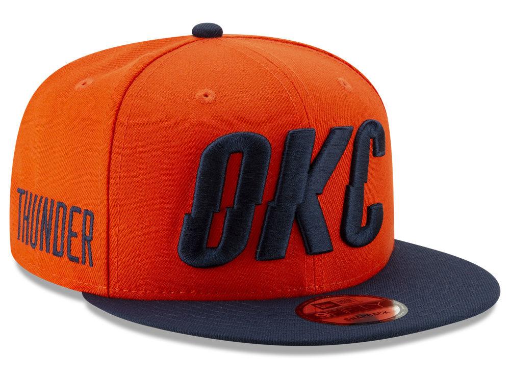 official photos d466a d0edb ... purchase best price oklahoma city thunder new era 2018 nba earned  edition 9fifty snapback cap lids