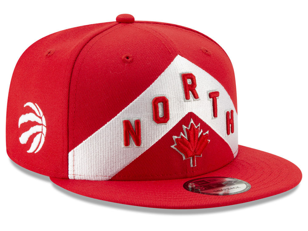 1ed1701e352 Toronto Raptors New Era 2018 NBA Earned Edition 9FIFTY Snapback Cap ...
