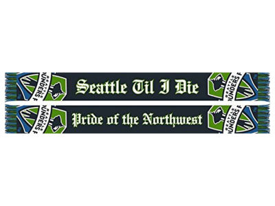 Seattle Sounders FC MLS Pride of the Northwest Scarf