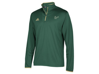 South Florida Bulls adidas NCAA Men's Team Iconic Quarter Zip Pullover