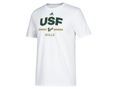 South Florida Bulls adidas NCAA Men's Sideline Speed Arch T-shirt