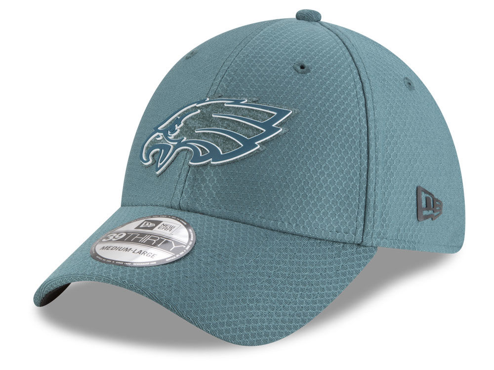 Philadelphia Eagles New Era 2018 NFL Training Camp 39Thirty Cap ... 16fbc61bd451