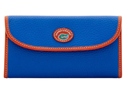 Florida Gators Dooney & Bourke Pebble Continental Clutch