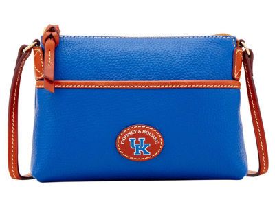 Kentucky Wildcats Dooney & Bourke Pebble Ginger Crossbody