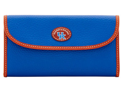 Kentucky Wildcats Dooney & Bourke Pebble Continental Clutch