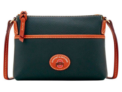 Ohio State Buckeyes Dooney & Bourke Pebble Ginger Crossbody